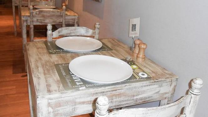 Table dressée - Les Délices du Grognon, Namur