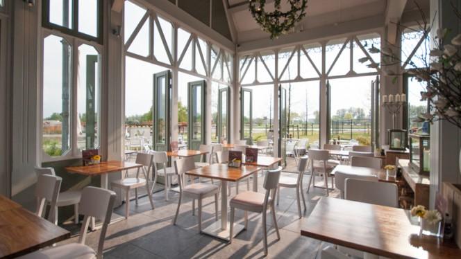 Dineropstelling, openslaande deuren - Anafora Parkrestaurant, Utrecht