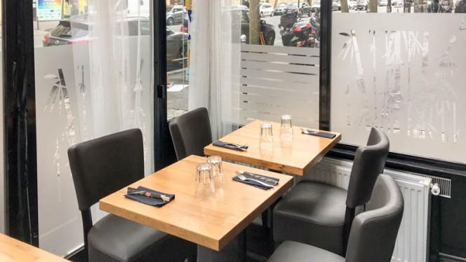 Salle du restaurant - Setai, Paris