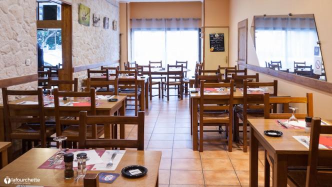 Salle du restaurant - Au Château d'If, Lyon