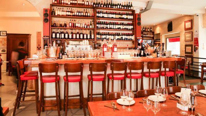 Salon du restaurant - La Brasserie Bordelaise, Bordeaux