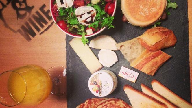 Brunch Americain - Burger & Wine, Lyon
