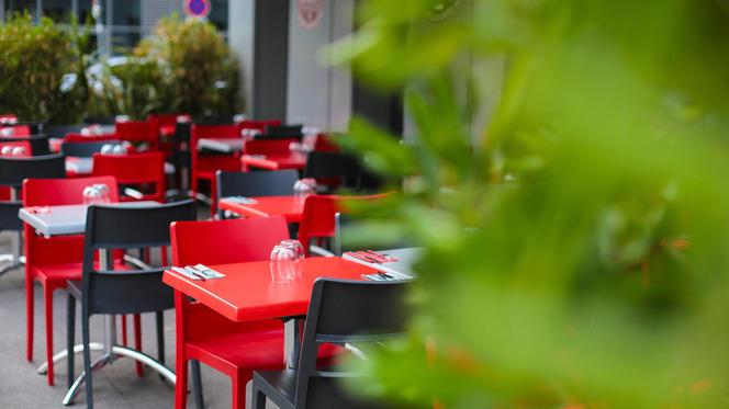 En terrasse - Burger & Wine, Lyon