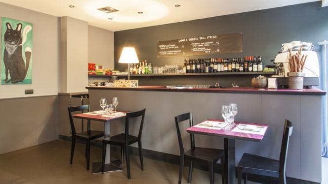 Interno - Caffè del Lupo, Milan