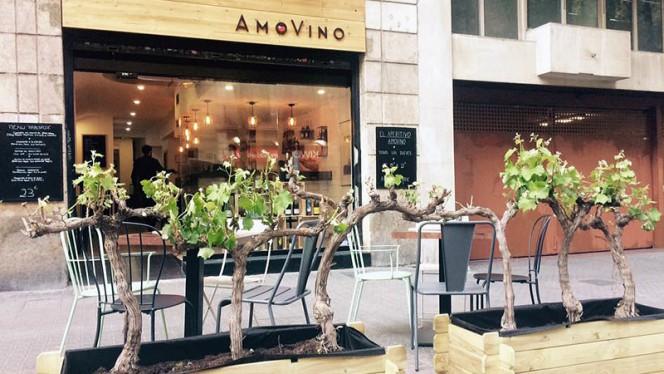 Terraza - AmoVino, Barcelona