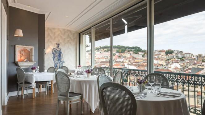 Vista do interior - Tágide, Lisbon