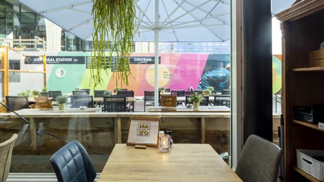 Het restaurant - Brasserie Mazo, Den Haag