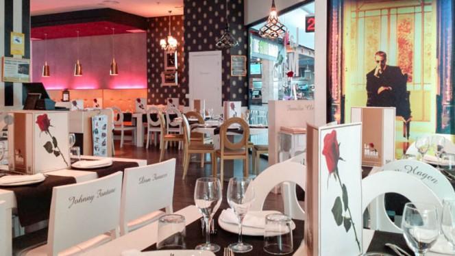 vista sala - La Mafia se sienta a la mesa - C.C La Vaguada, Madrid