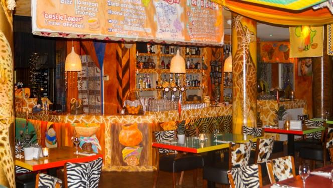 Restaurantzaal - Viva Afrika, Rotterdam