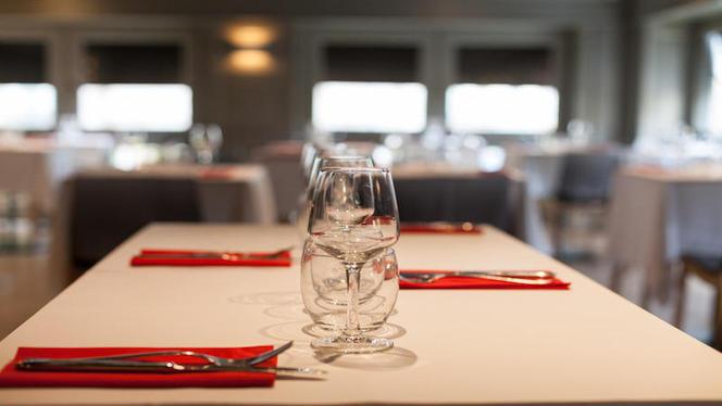 table dressée - Brasserie Espace Carnot, Lyon