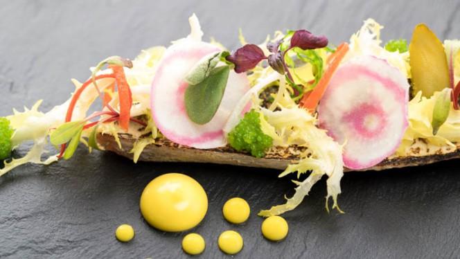 Geroosterde makreel - Restaurant W, Zwolle