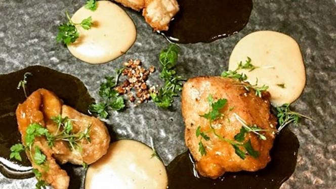Ris de veau, purée de châtaigne et sarrasin - Aux Verres de Contact, Paris