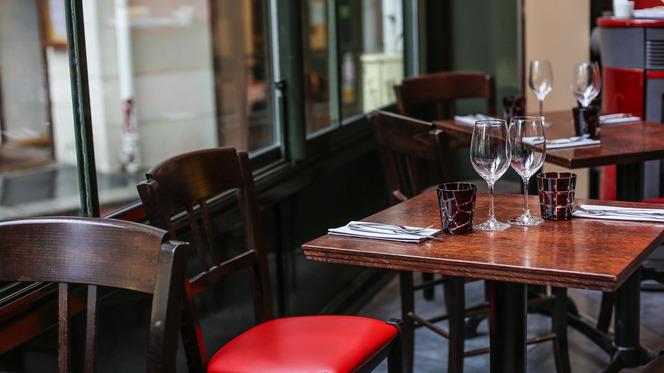 Tables dressées - Aux Verres de Contact, Paris