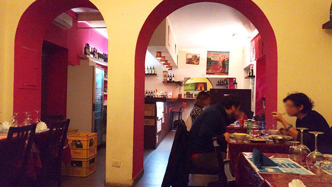 La sala - Raj - Ristorante Indiano, Milan