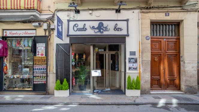 Fachada - Crudo Bar, Valencia