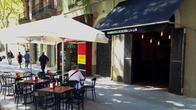 Vista terraza - La Lia, Barcelona