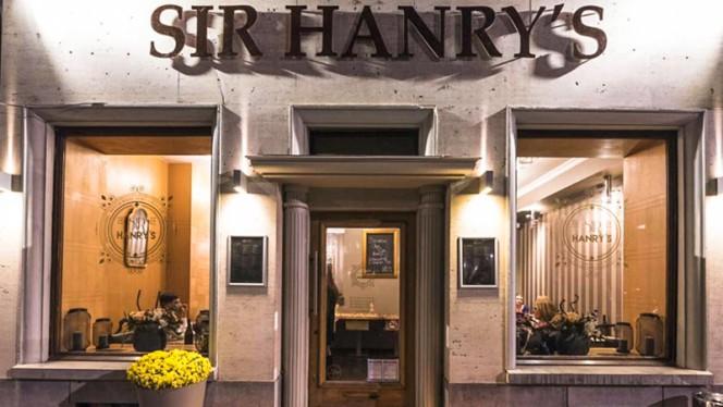 Entrée - Sir Hanry's,