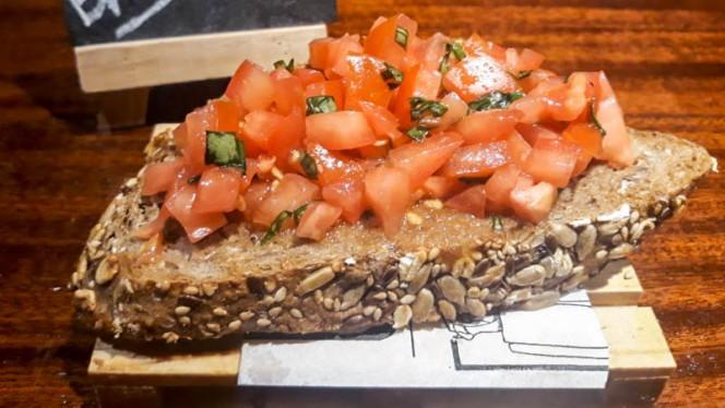 Suggerimento dello chef - Brusketta La Sarda, Almería