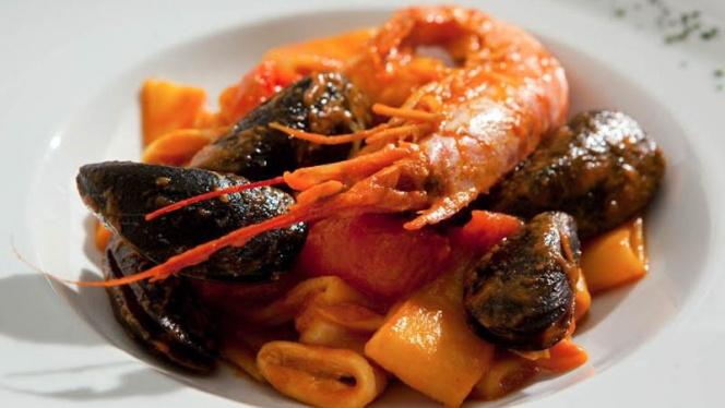 paste con pesce - Antica Trattoria Bagutto, Milan