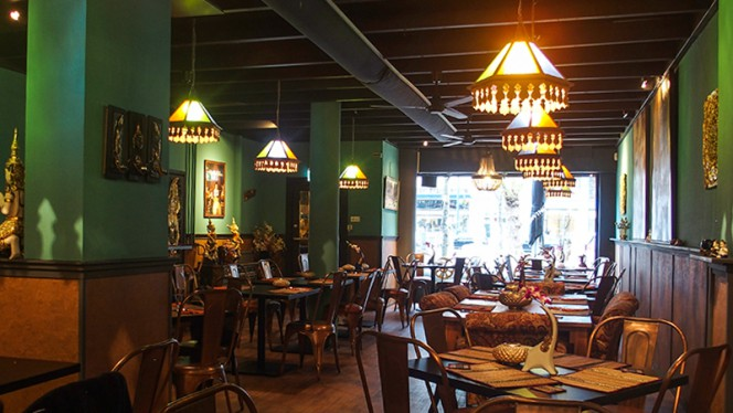 Diner area - My Thai Son, Rotterdam
