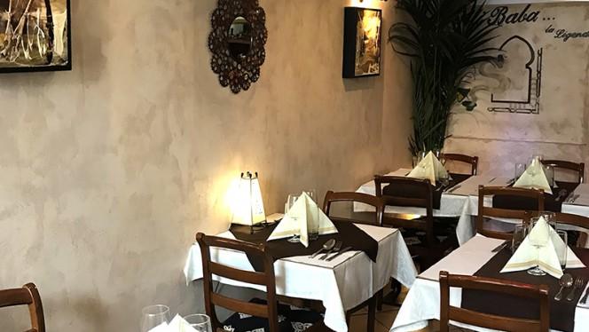 Salle du restaurant - Ali baba, Strasbourg