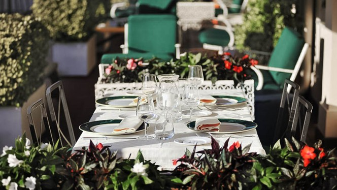 tavolo - La Terrazza dei Papi, Rome