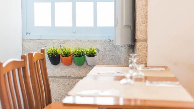 Sala do restaurante - Casa rocha, Porto
