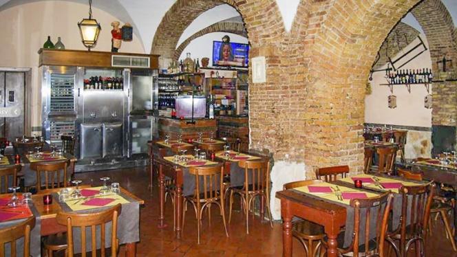 La sala - Vecchia Osteria del Gelsomino, Rome