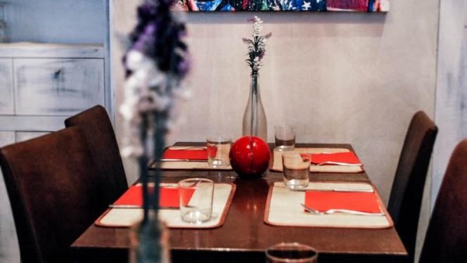 Vista sala - Wish Lounge Restaurant, Milan