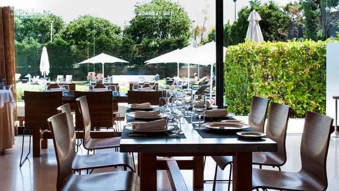 Vista de sala - The Terrace - Fairmont Rey Juan Carlos I, Barcelona