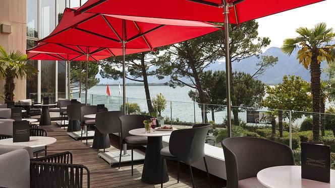 Terrasse - Le Fouquet's Montreux, Montreux