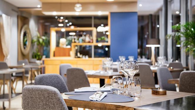 Salle du restaurant - Le Floris,