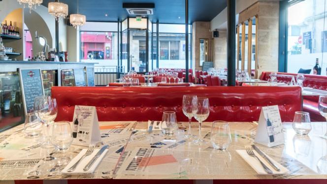 Table dressée - San Pietro, Bordeaux