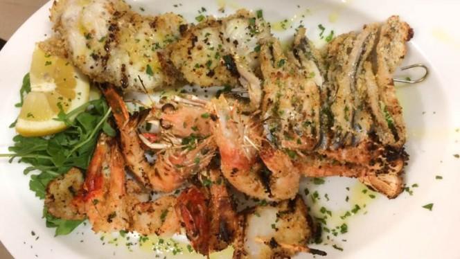 Pesce arrosto - La Dama, Ancona