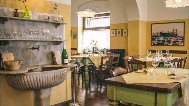 Sala - Toe Drue Antica Osteria, Genova