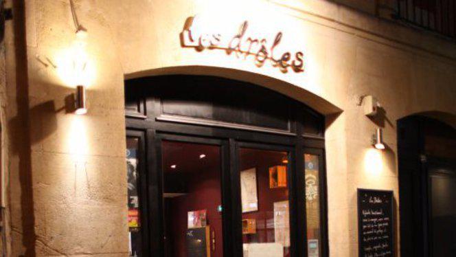 Devanture - Les Drôles, Bordeaux