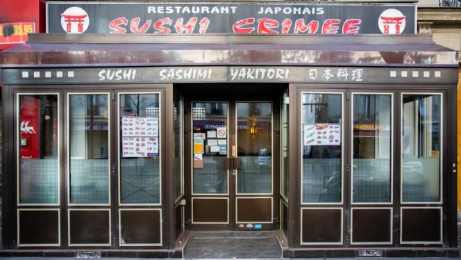 Devanture - Sushi Crimee, Paris