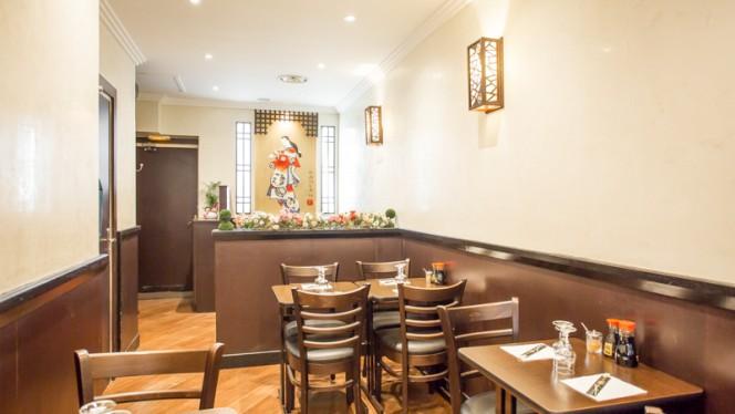 Salle du restaurant - Sushi Crimee, Paris