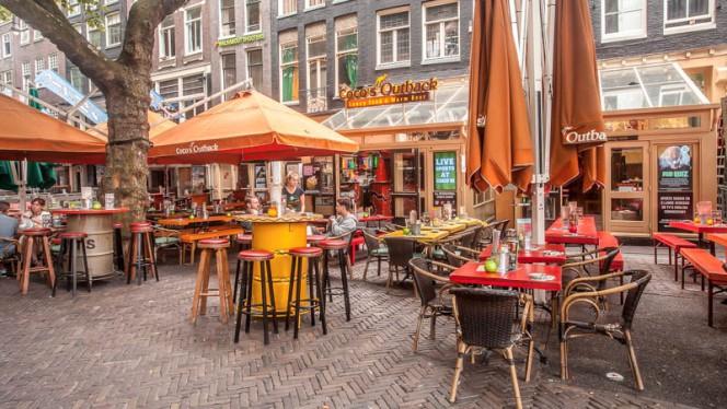 Terras - Pub Coco's Outback, Amsterdam