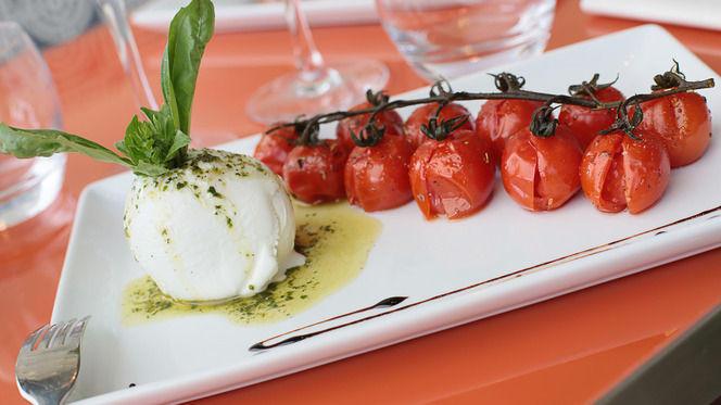 Tomate mozzarella - Caffé Italien, Lyon