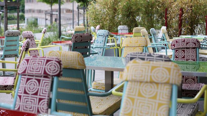 En terrasse - Caffé Italien, Lyon