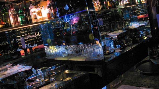 Vue bar - Le Centre du Monde, Paris