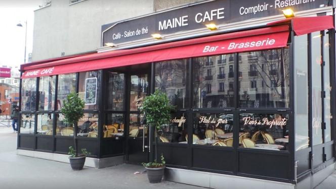 Devanture - Le Maine Café, Paris-14E-Arrondissement