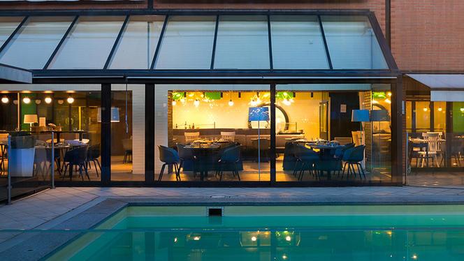 Vista sulla piscina - N Restaurant - Milano, Milan