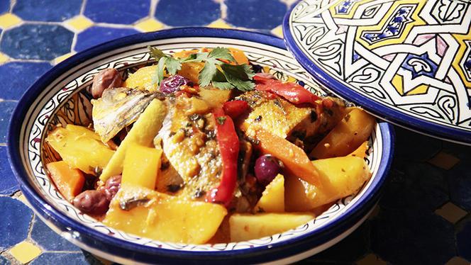 Sugerencia del chef - Lounge Marrakech, Barcelona