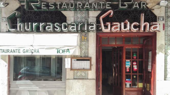 fachada do restaurante - Gaucha, Lisboa