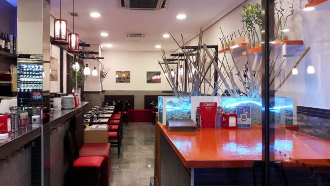 Vista sala - Hayama Sushi & Ramen, Madrid