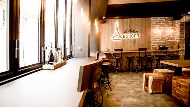 Vue de la salle - L'Artisan Du Burger - Poncelet, Paris