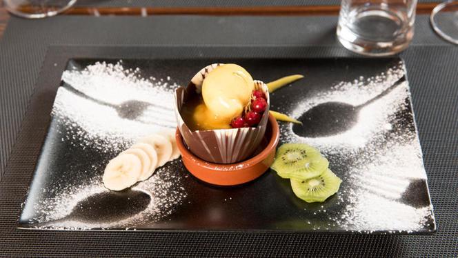 Suggestion de dessert - Aux Fleurs de la Terre, Lausanne