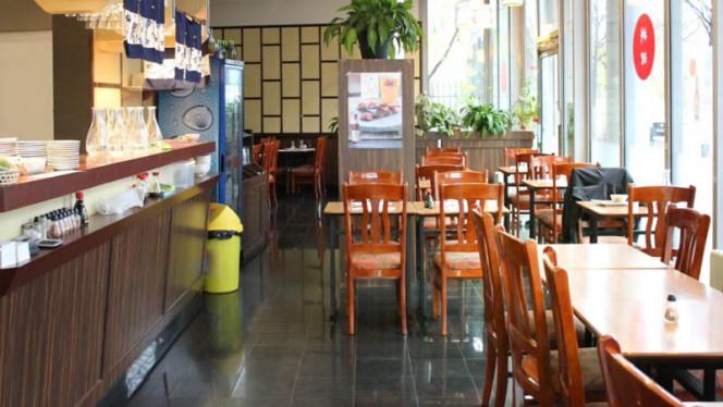 Vue de la salle - Sushi Massena, Paris